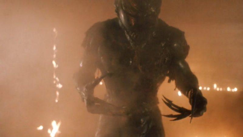 Alieno in scena finale Detective Stone