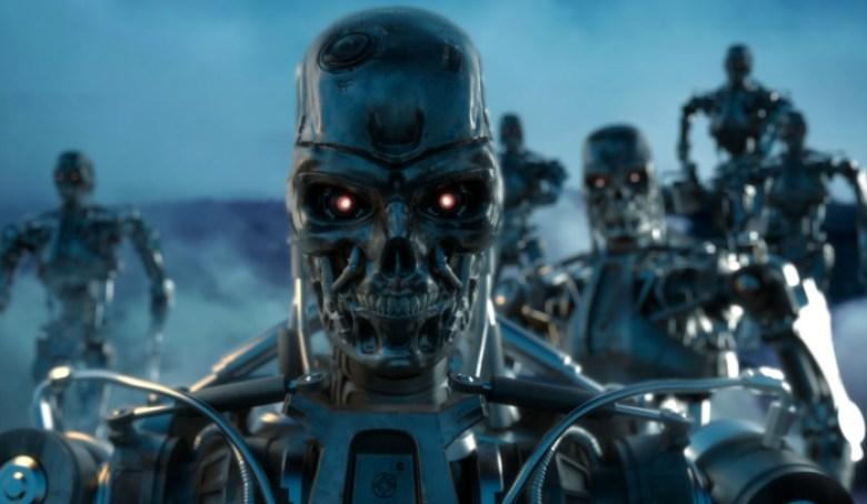 Terminator sulla spiaggia T-800