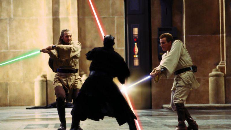 Maul contro Qui-Gon e Obi-Wan