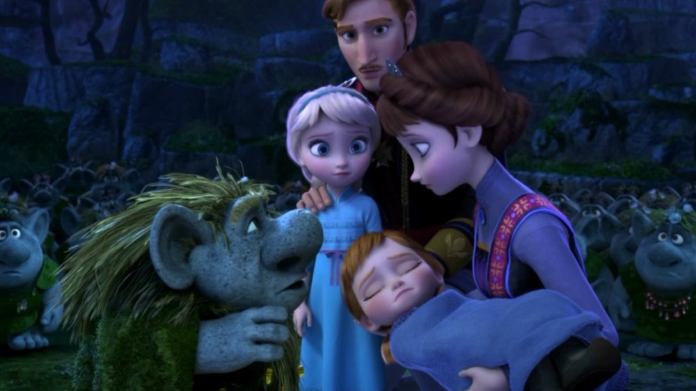Anna, Elsa e i Troll