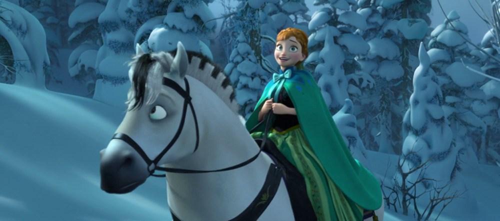 Kjekk Cavallo anna in Frozen