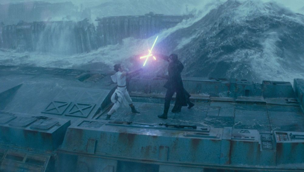 Rey vs Kylo in Episodio 9