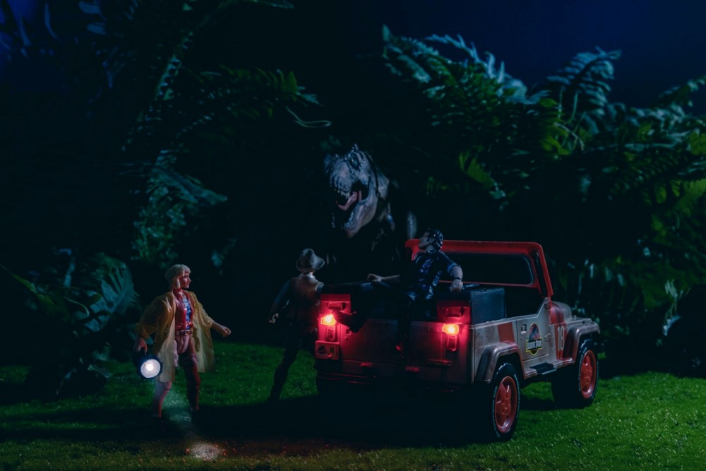 Diorama T-Rex Jurassic