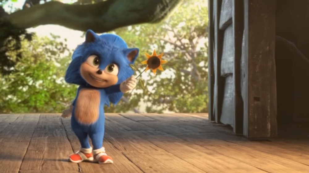 Baby Sonic film Monster Movie