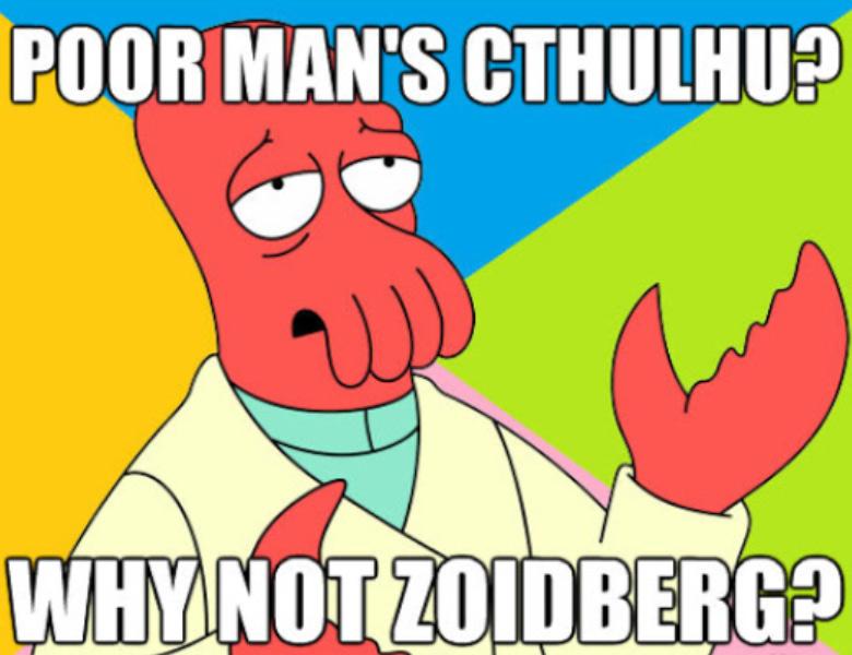 Zoidberg Futurama Cthulhu