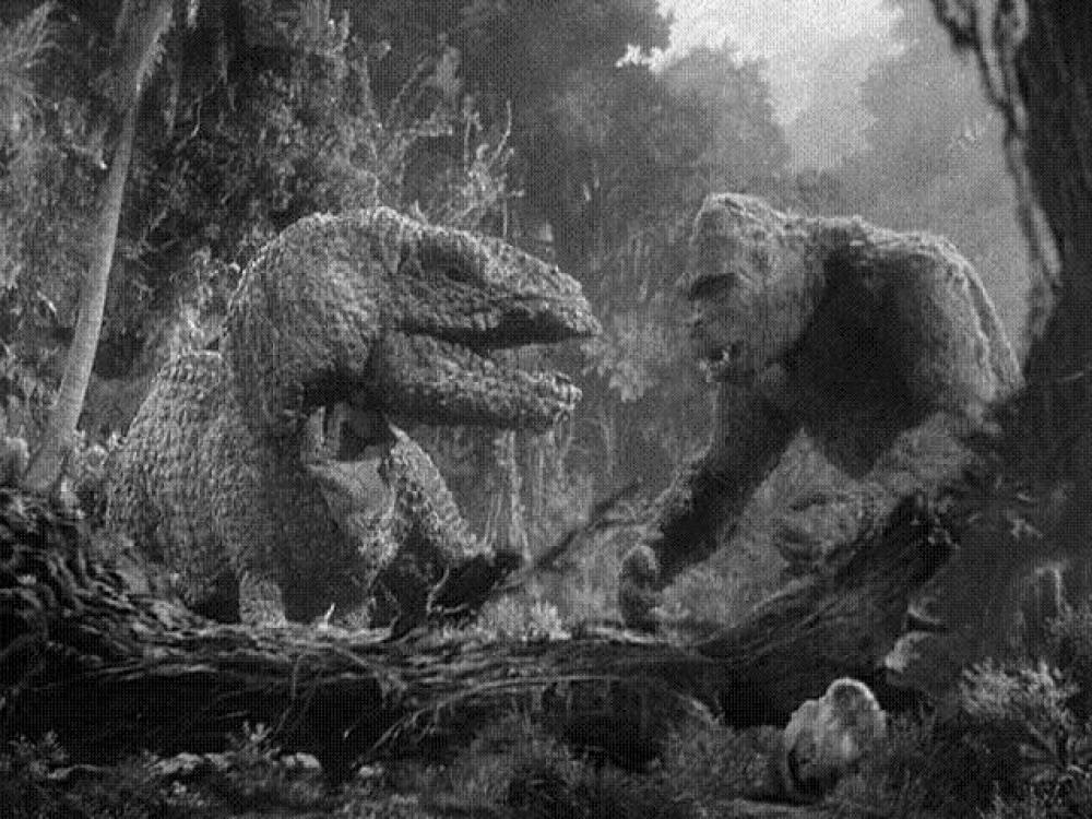 King Kong contro T-Rex