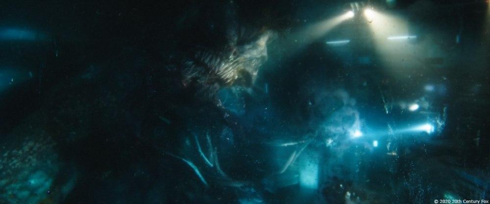 Behemoth mostro Underwater