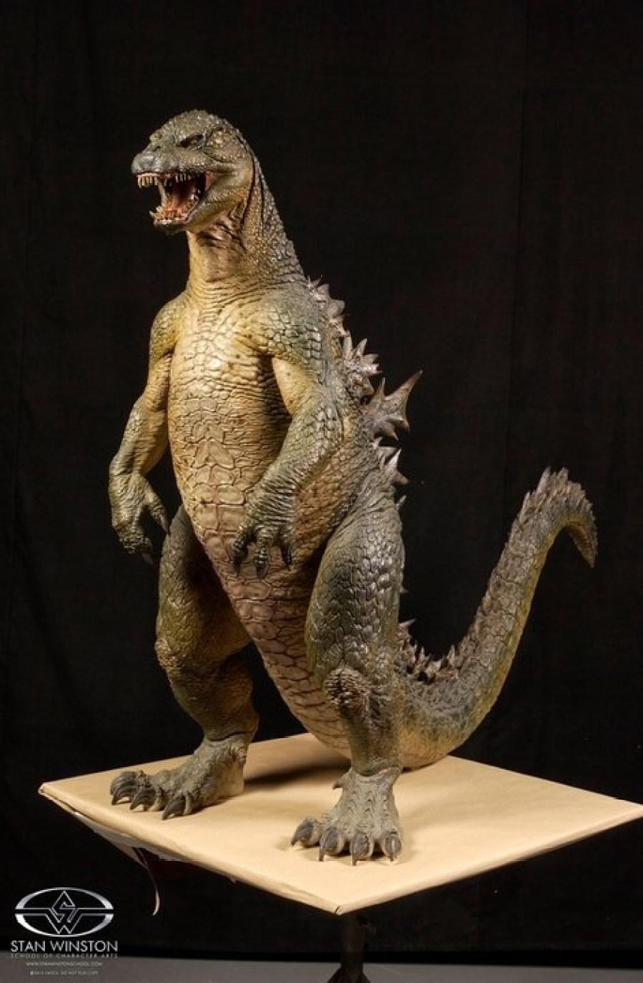 Godzilla maquette stan winston