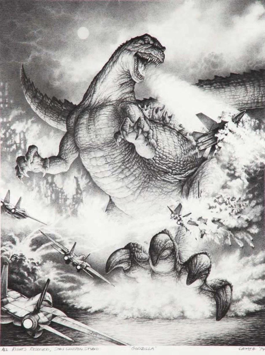 Godzilla 94 Stan Winston