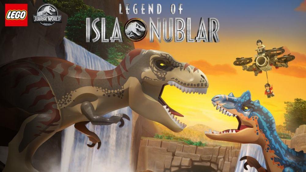 Leggenda Isla Nublar lego scatola