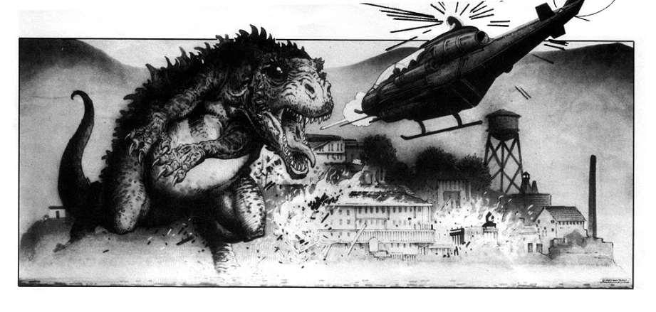 Godzilla Storyboard 83