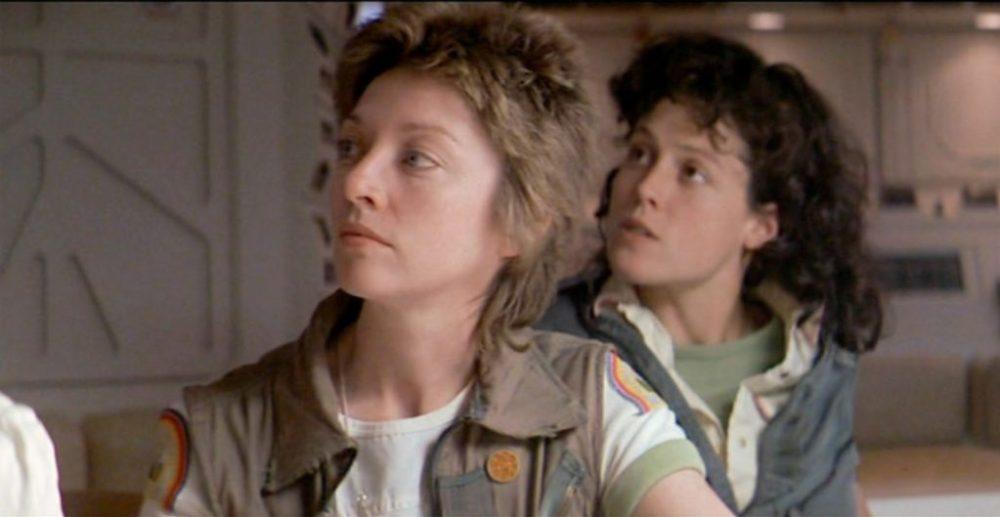 Ellen Ripley e Joan Lambert in Alien