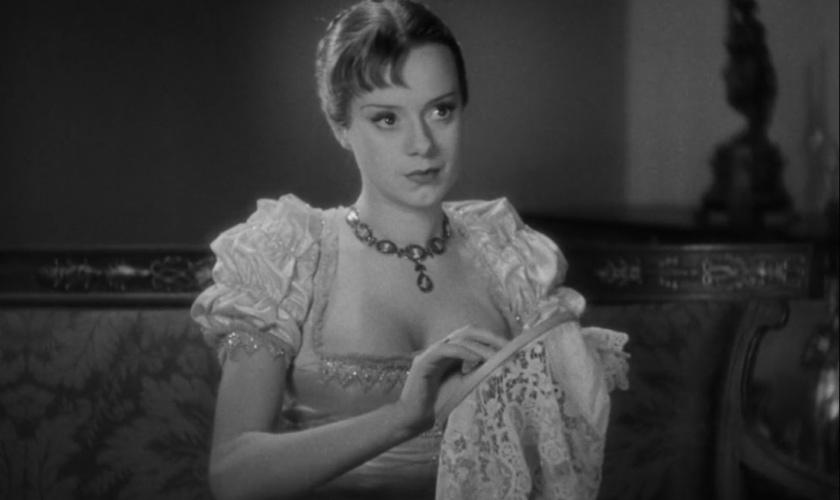 L'attrice Elsa Lanchester bianco e nero