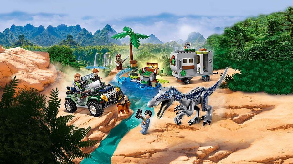 legend of isla nublar giocattoli scenario