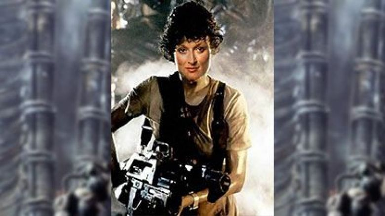 Meryl Streep come Ripley in Alien