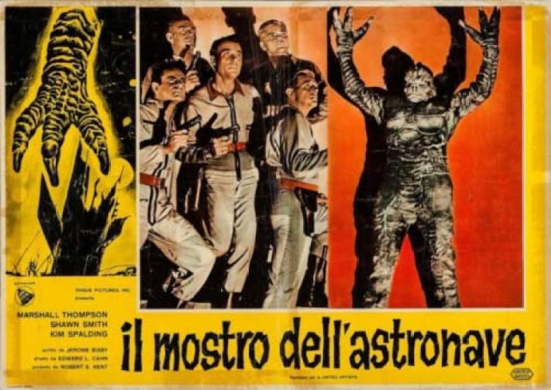 Il mostro dell'astronave film del 1958