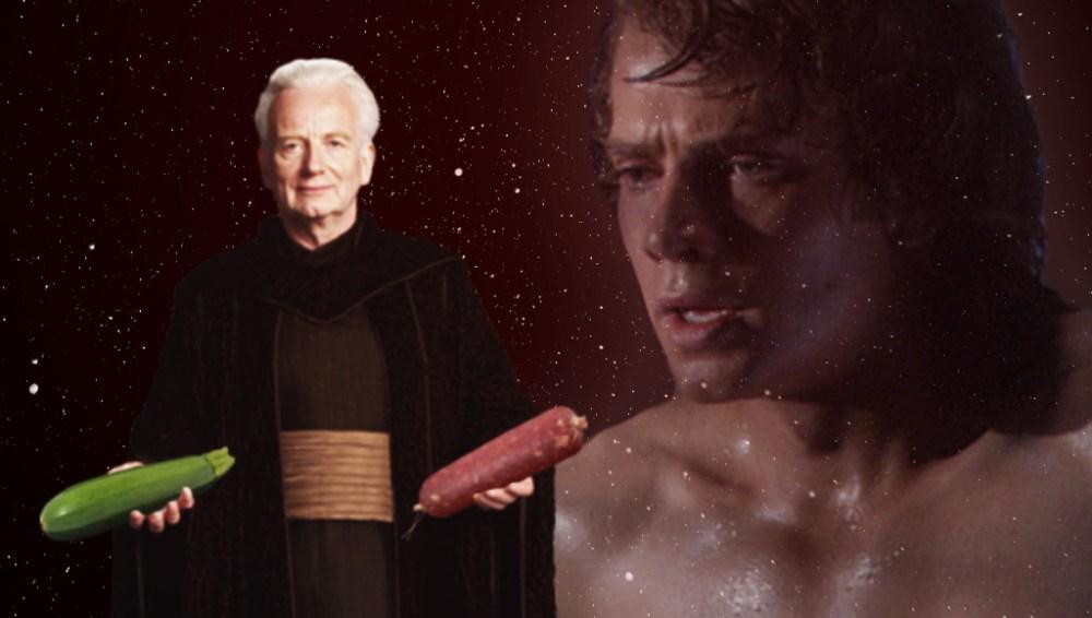 Palpatine e Anakin Piaceri Lardosi