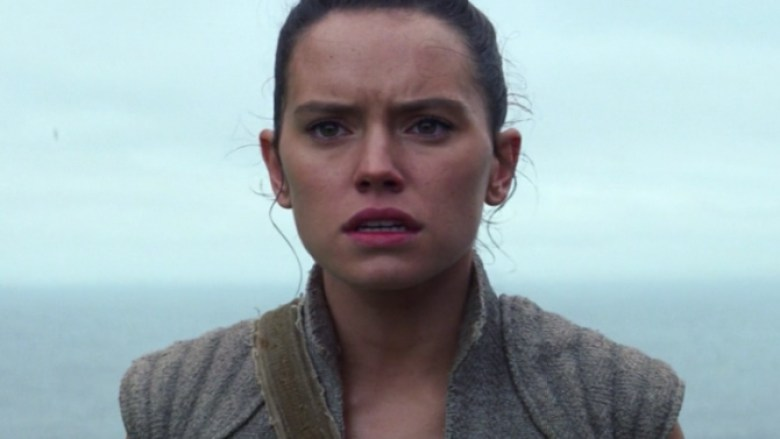 Rey Daisy Ridley in Star Wars