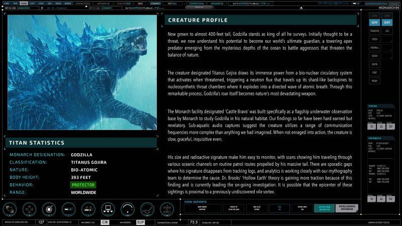 Carta d'identità Godzilla