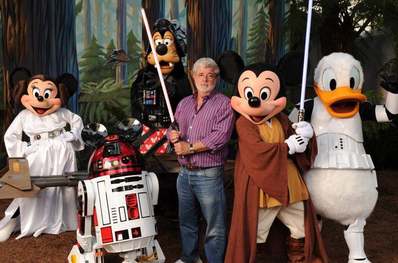 George Lucas Disney e Lucasfilm