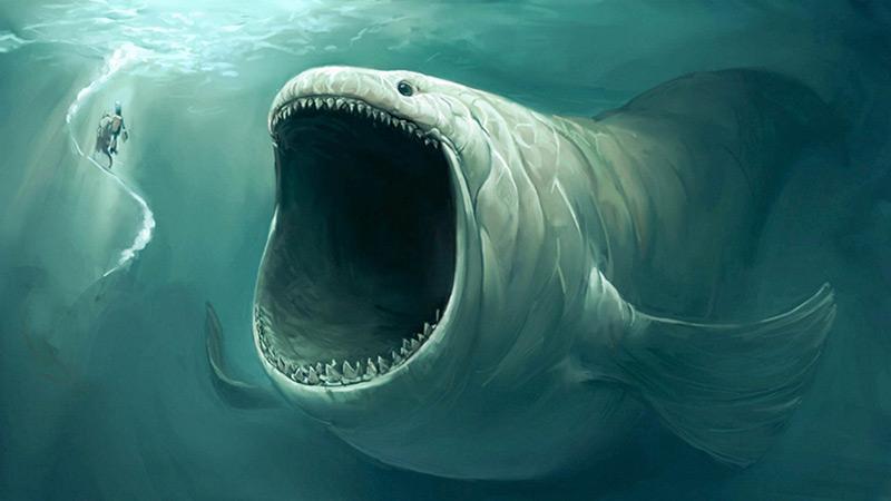 Mostro marino monster movie art online