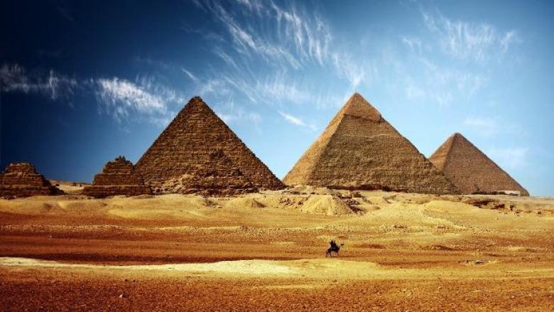 Piramidi valle di Giza