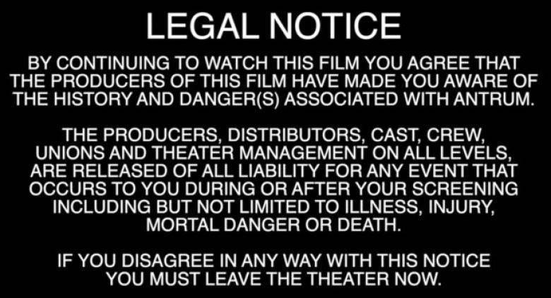 Antrum nota legale