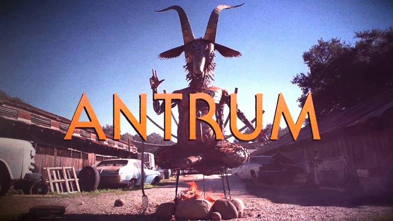 Antrum film poster col logo