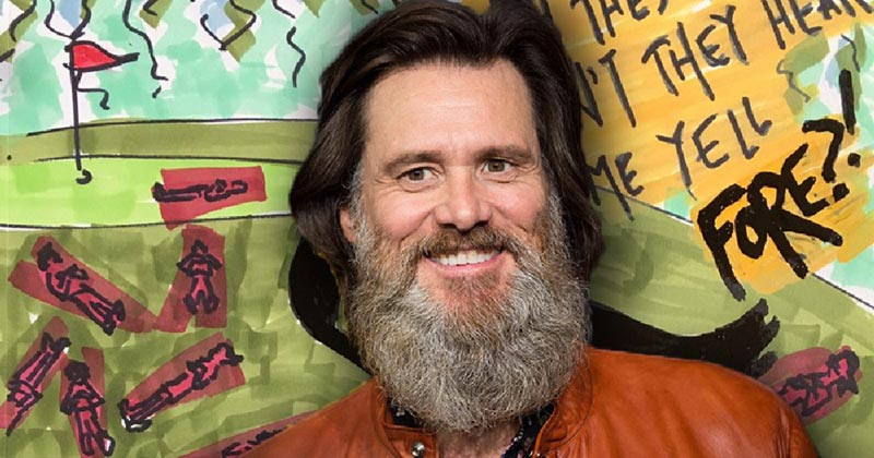 Jim Carrey I Needed Color poster