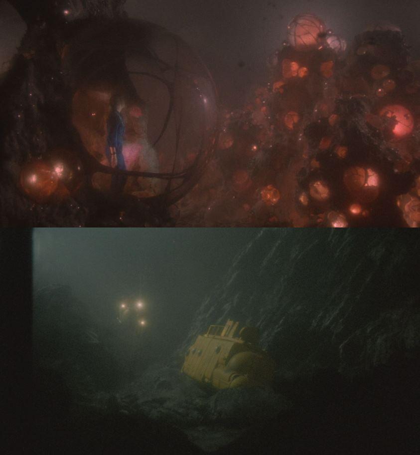 Lords of the Deep inquadrature fondali