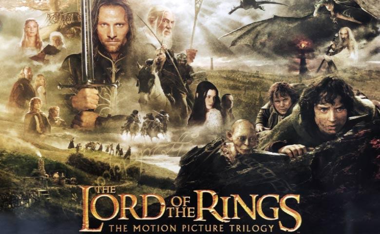 Signore degli Anelli Poster trilogia