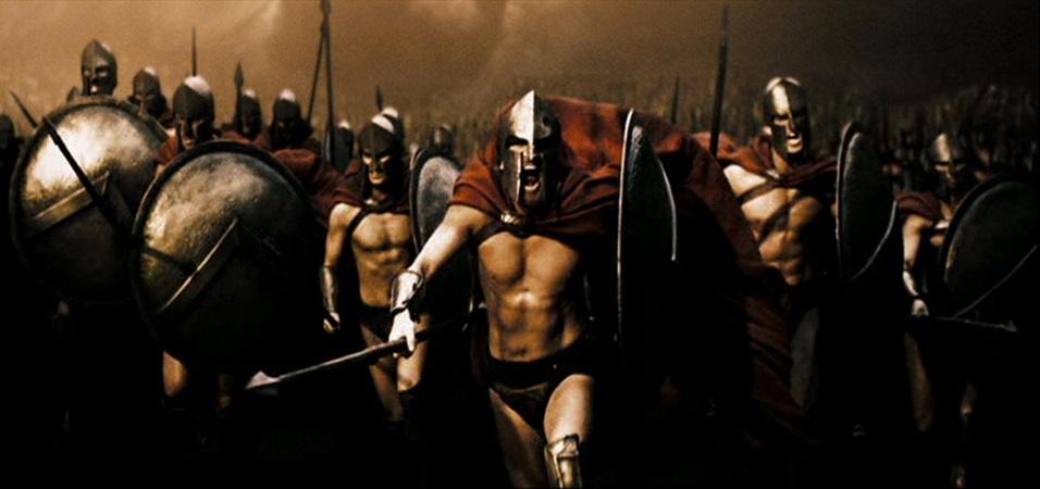 Spartani alla carica