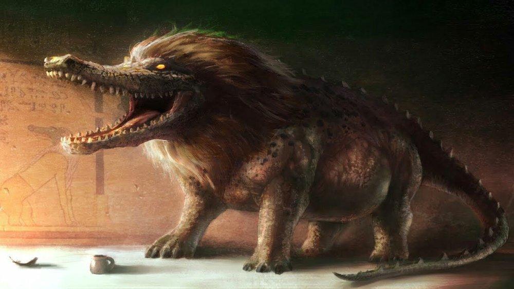 Ammit Bestiario Egitto Monster Movie