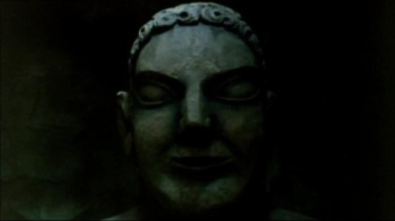 Statua cimitero etrusco