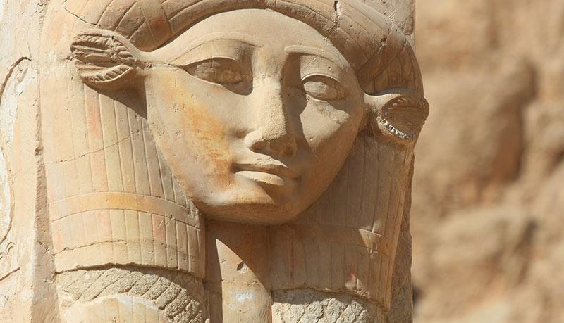 Hathor statua dea Egitto