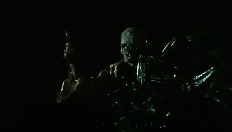 Zombie lanciatore di chiodi