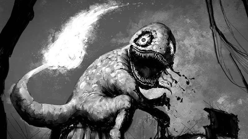 Sindrome Lavandonia Charmander spaventoso