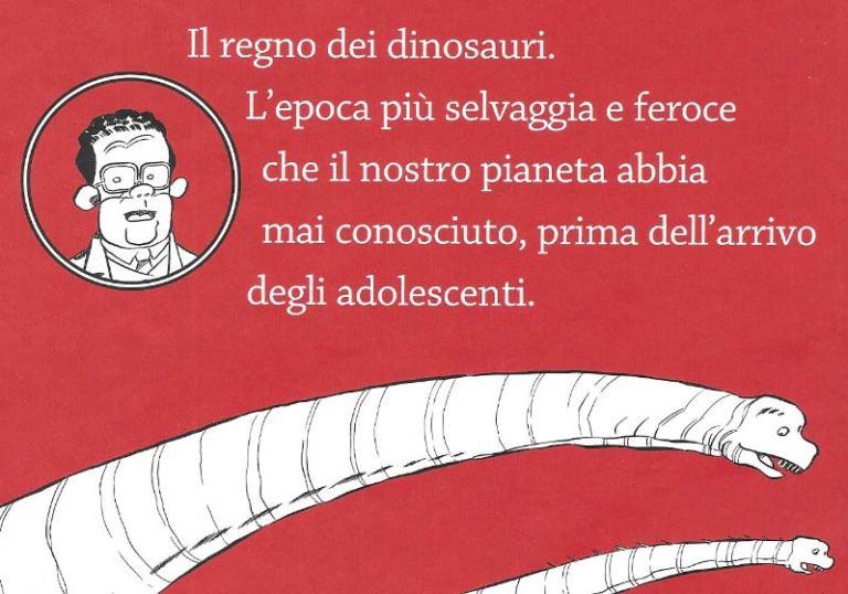 Dinosauri che ce l'hanno fatta Ortolani retro
