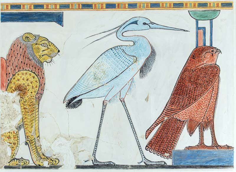 Benu uccello antico Egitto