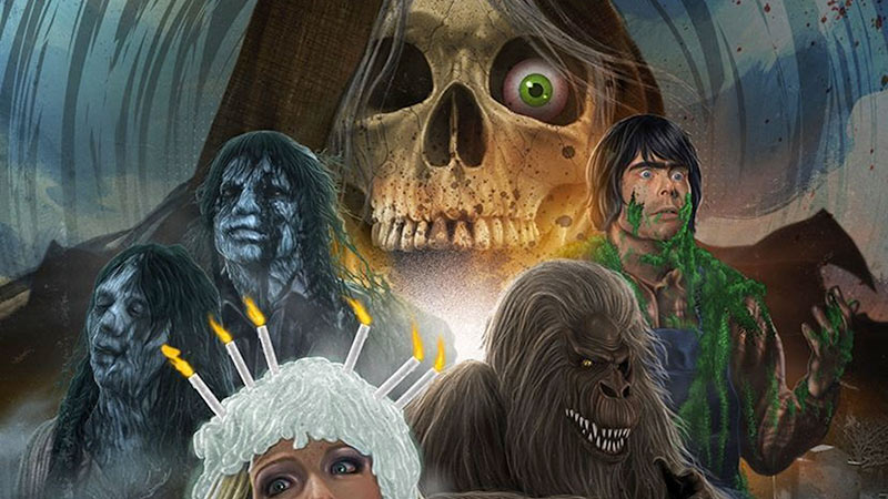 Creepshow poster personaggi