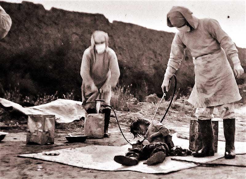 Esperimenti sui prigionieri Unità 731