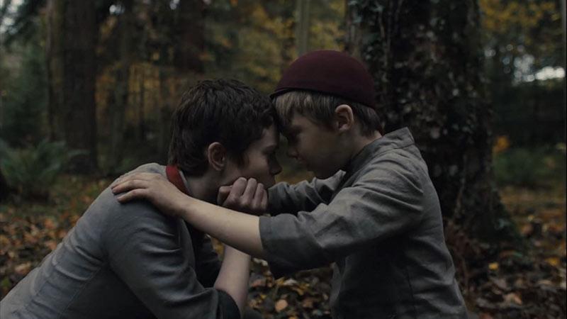 Gretel e Hansel protagonisti del film