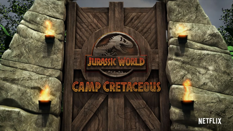Camp Cretaceous poster Netflix