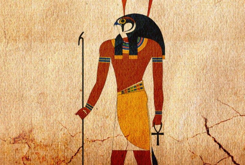 Geroglifico con dio Horus