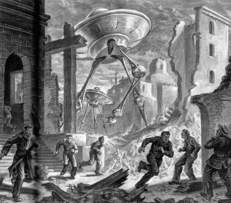 La guerra dei mondi tripode art