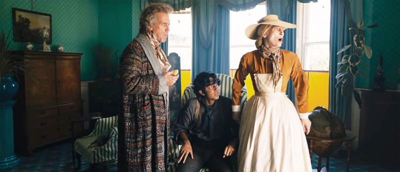 Tilda Swinton e Hugh Laurie in David Copperfield