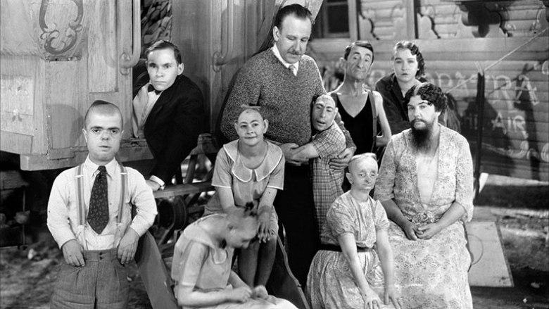 Freaks Tod Browning cast deforme