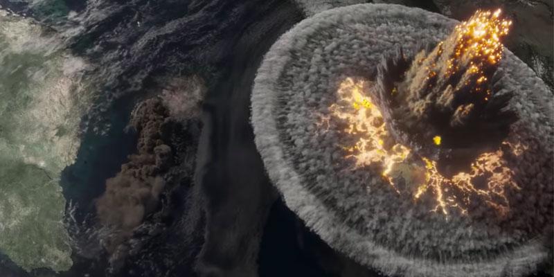Greenland impatto cometa Clarke