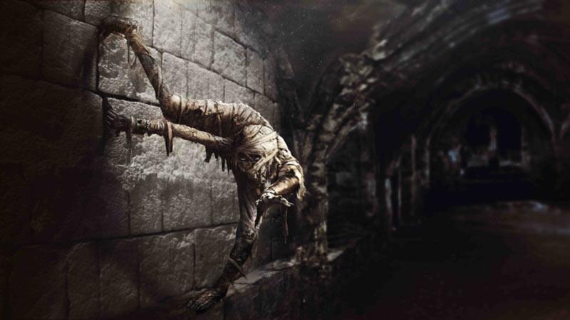 Mummia film 2017 concept art