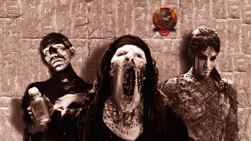 mummie cinema universal artwork monster movie